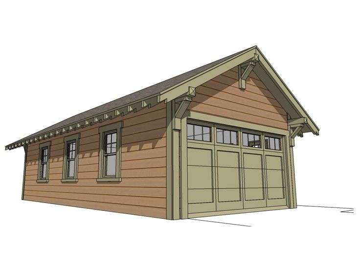Tandem Car Garage Plans Bing