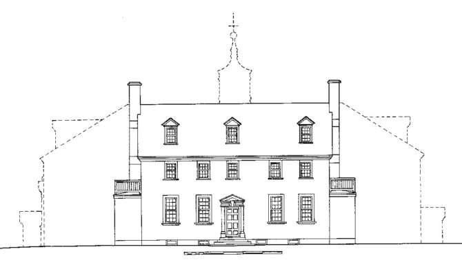 Ten Facts Mansion George Washington Mount Vernon