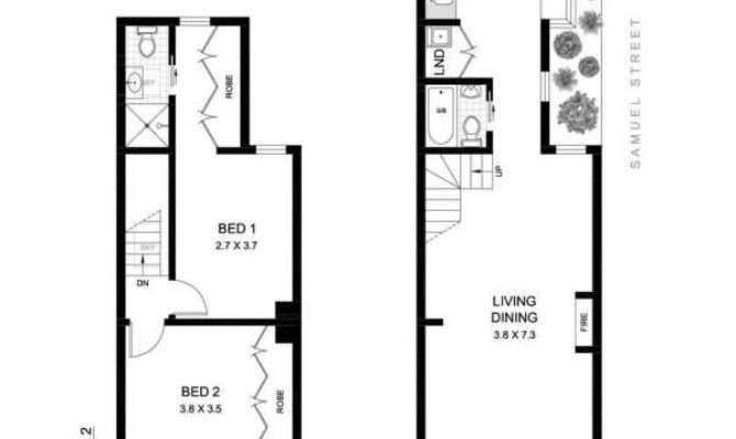 Terraced House Plan Pixshark Galleries