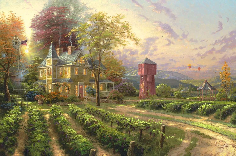 Terry Avon Redlin Landscape Wildlife Painter Tutt Art