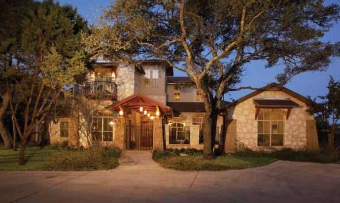 Texas House Plans Eplans Floor Hill Country Gulf