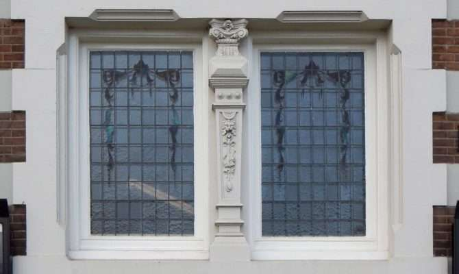 Texture Neoclassical Windows English Style Lugher