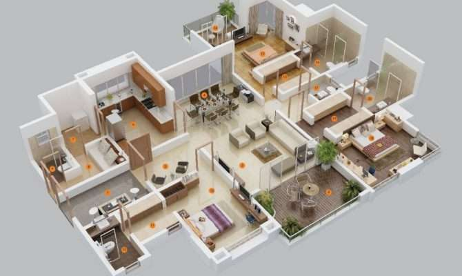 Three Bedroom Apartment House Plans Simplicity
