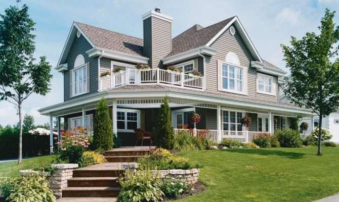 Three Bedroom House Plan Wraparound Porch Maverick