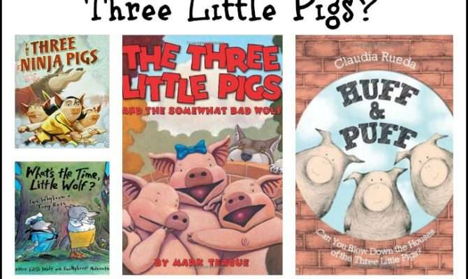 Three Little Pigs Fractured Fairy Tales All Done Monkey