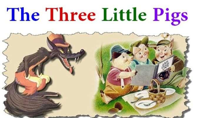 Three Little Pigs Kids Story Short