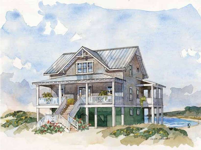 Tidewater House Plans Dream Home Source Country Style