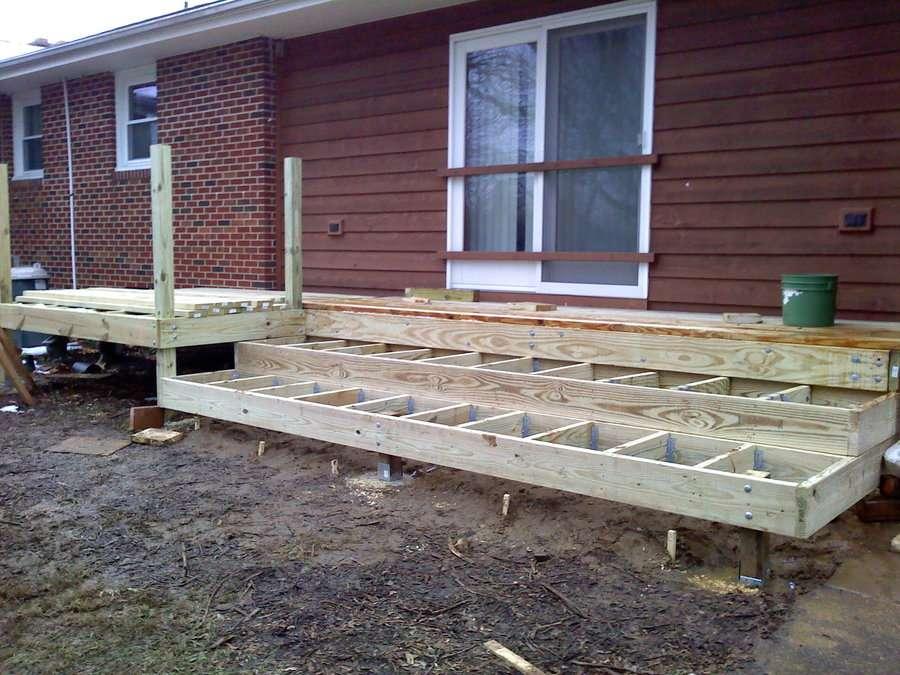 Tiered Deck Dfletcher Homerefurbers Home Improvement