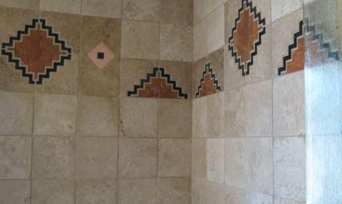 Tile Design Shower Enclosure