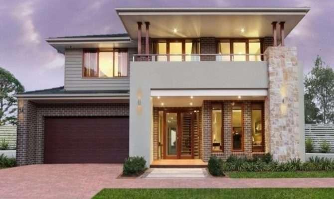 Tile Oak Cabinets Mid Century Modern Home Exterior
