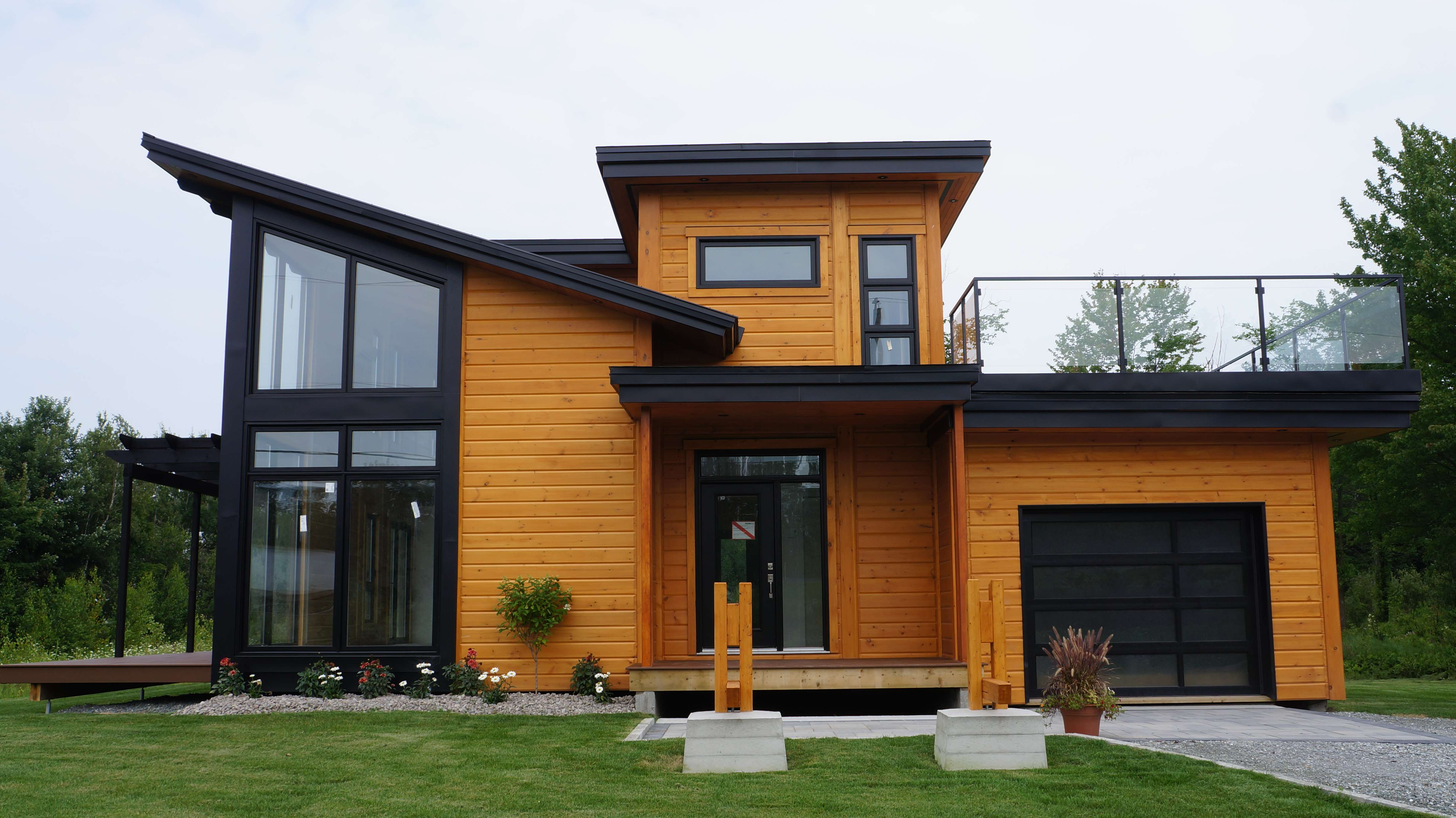 Timber Block Builds Newest Contemporary Home Plans