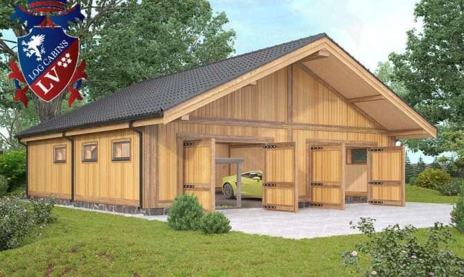 Timber Frame Laminated Garages Logcabins Log