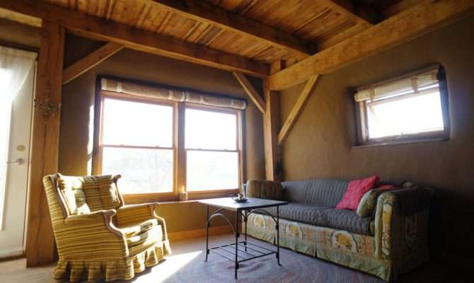 Timber Frame Straw Bale House Sale Natural Home