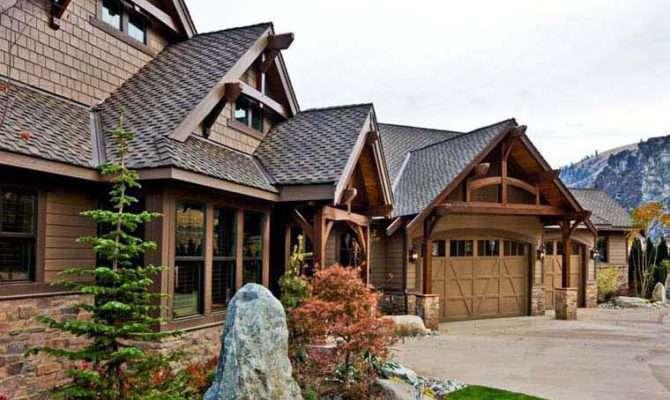 Timber Framed Craftsman House Plan Home Plans Blog
