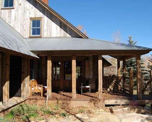Tin Shade House Design Home Style