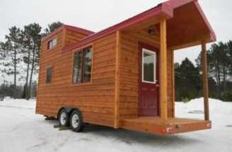 Tiny Cabin Wheels