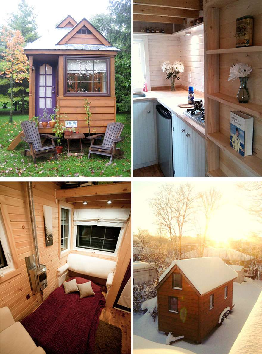 Tiny Homes Make Most Little Space