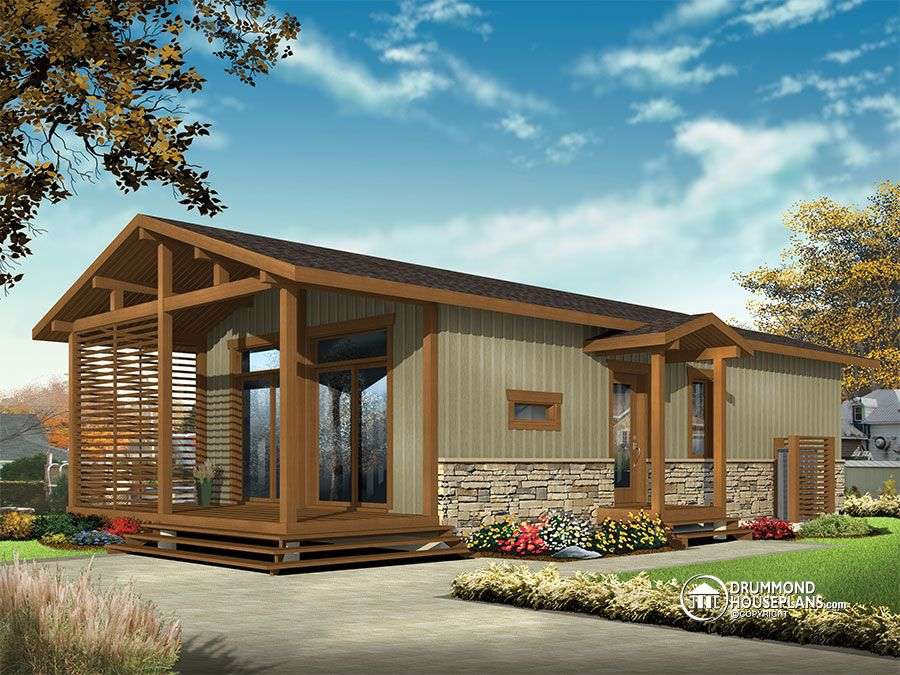 Tiny Homes Press Release Drummond House Plans