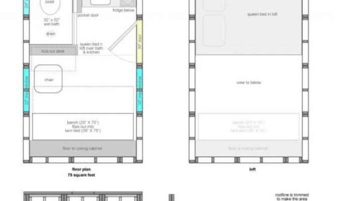 Tiny House Floor Plans Arch Dsgn