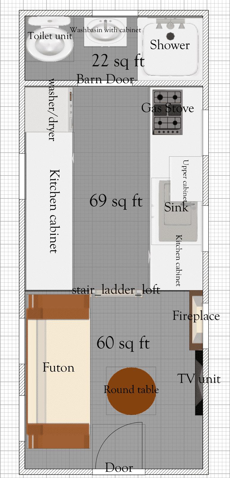 Tiny House Floor Plans Plan