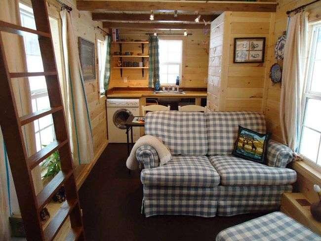 Tiny House Interior Micro Home Pinterest