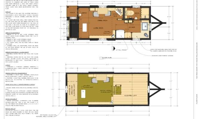 Tiny House Plan Pdf