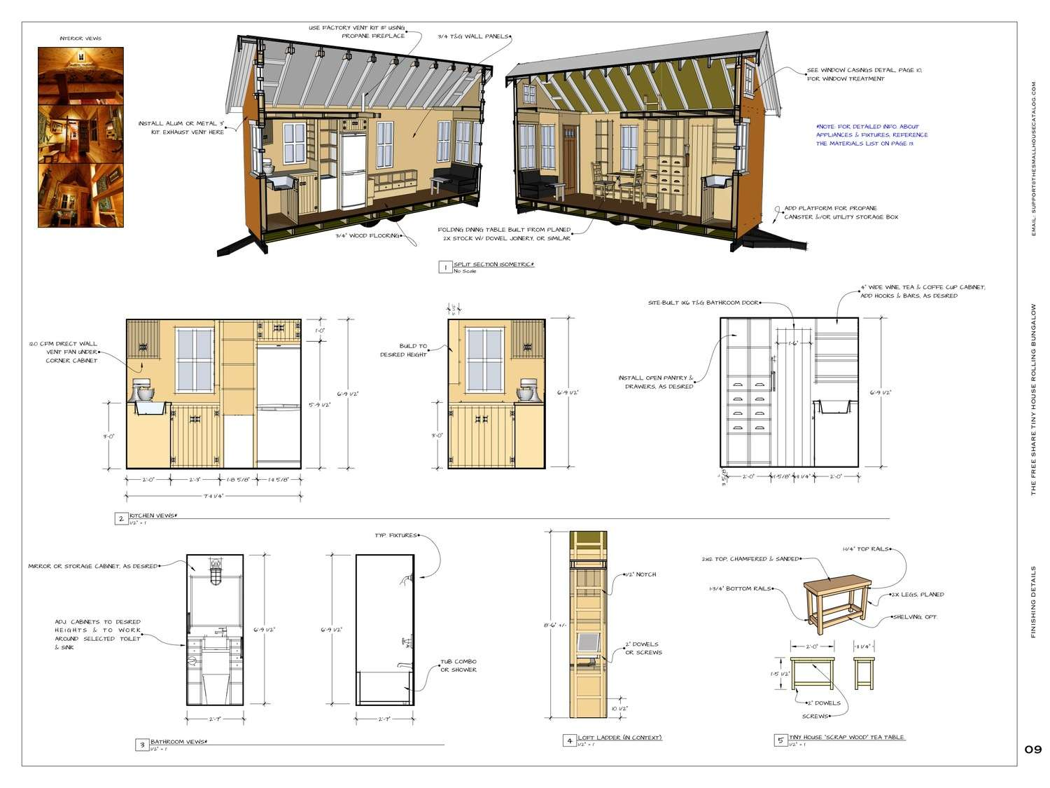 Tiny House Plans Garage Homes Floor