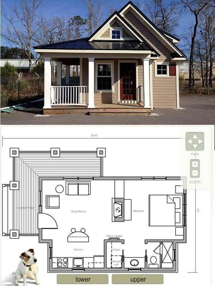 Tiny House Plans Seniors - Architecture Plans