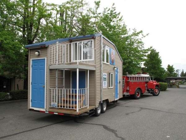 Tiny House Trailer Plans Becuo