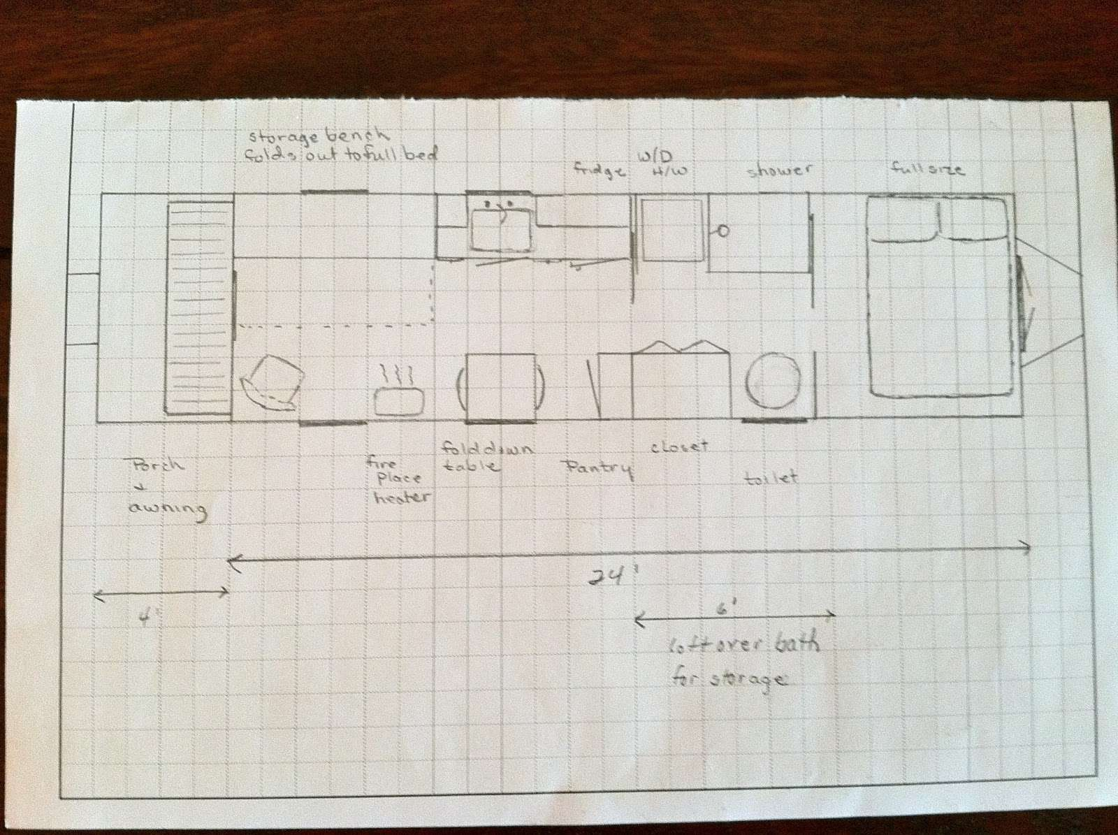 Tiny House Wheels Floor Plans One First Plan