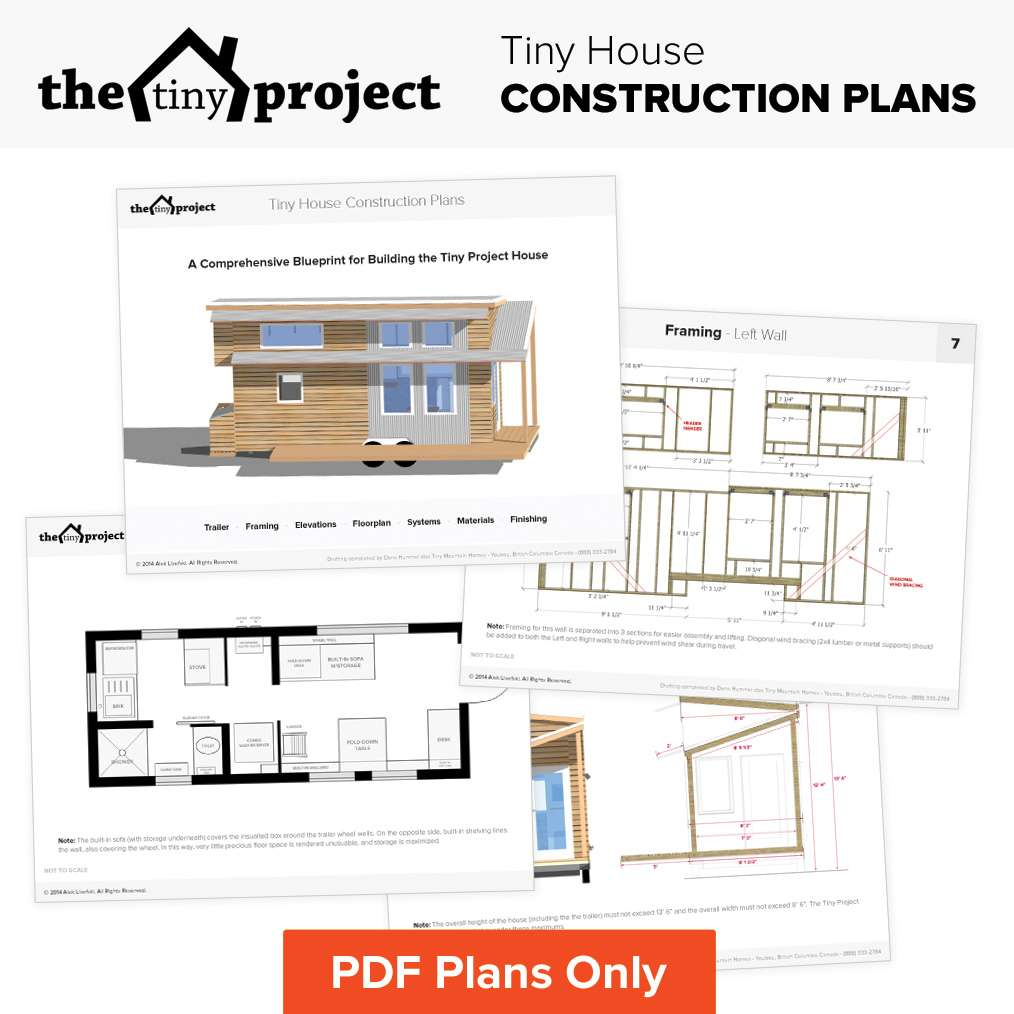 Tiny House Wheels Floor Plans Pdf Construction