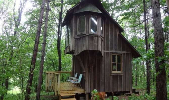 Tiny Two Story Cottage Outside Pinterest
