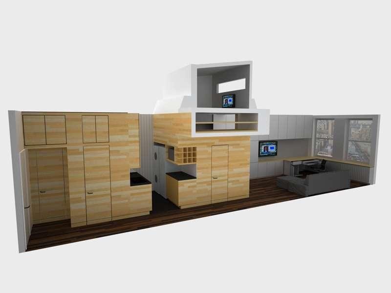 Tiny Yet Very Cosy Studio Apartment Design Digsdigs