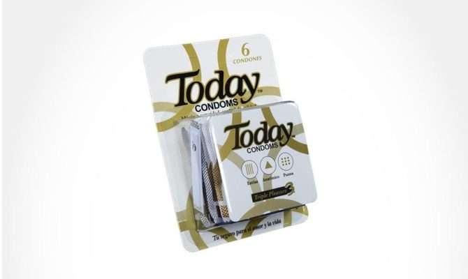 Today Triple Placer Caja Condones Protecci Para