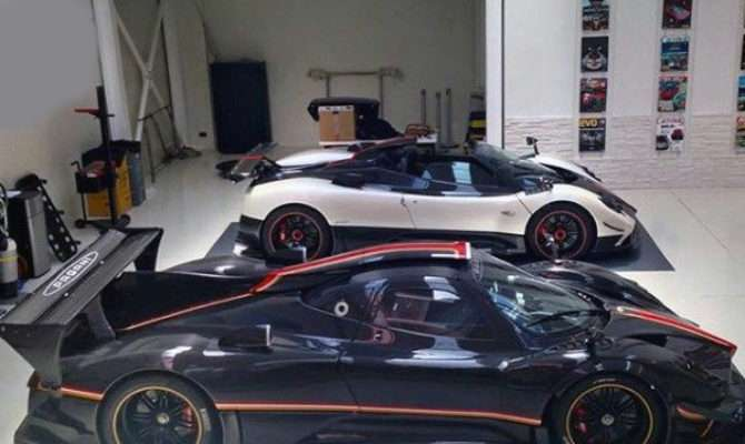 Top Best Dream Garages Men Places Want