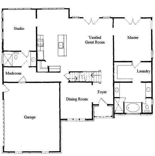 Top Downstairs Master Bedroom Floor Plans Photos