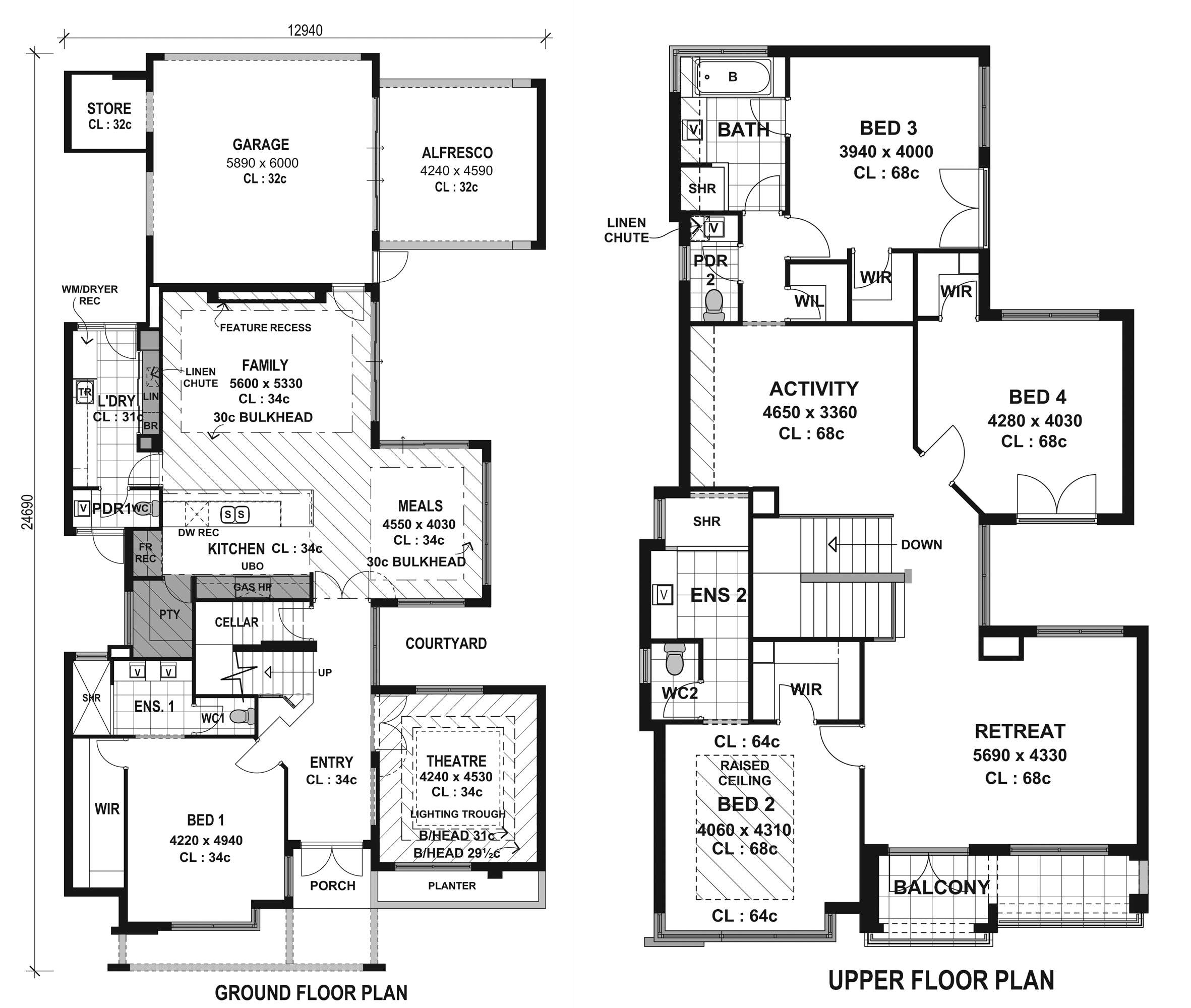 Top Modern House Floor Plans Cottage