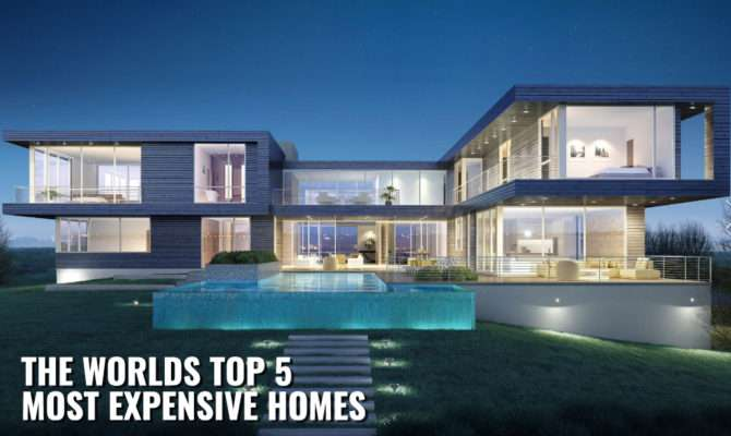 Top Most Expensive Mansions World