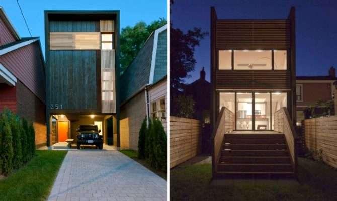 Toronto Shaft House Maximizes Space Daylight Snug