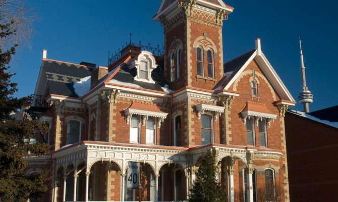 Toronto Twin Italianate Villas Spacing