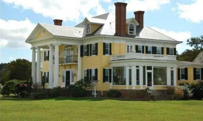 Tour Oak Hall Waterfront Country Estate Greek Revival
