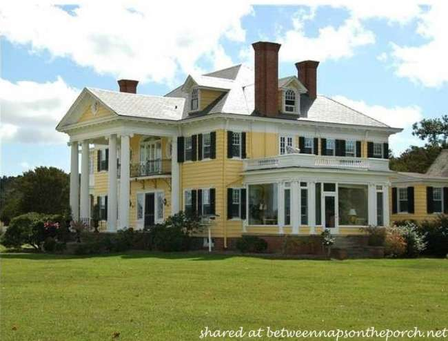 Tour Oak Hall Waterfront Country Estate Greek Revival