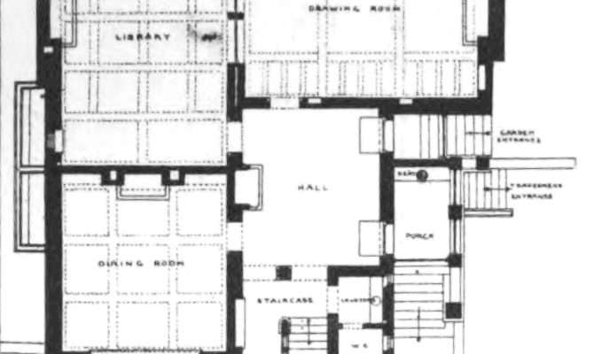 Tower House Ground Floor Plan Wikimedia Commons