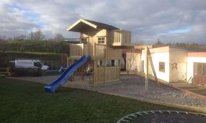 Tower Playhouse Wooden Workshop Oakford Devon