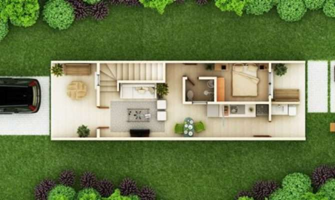 Townhouse Designs Thd Pinoy Eplans Modern House