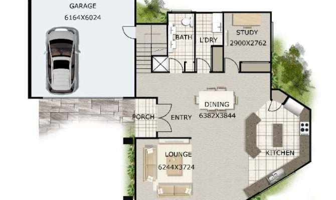 Townhouse Floor Plans Also Narrow Addition