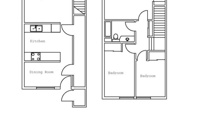Townhouse Floor Plans House