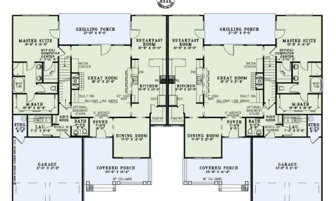 Townhouse Plans Two Story Plan