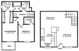 Townhouses Floor Plans Find House Watchesser