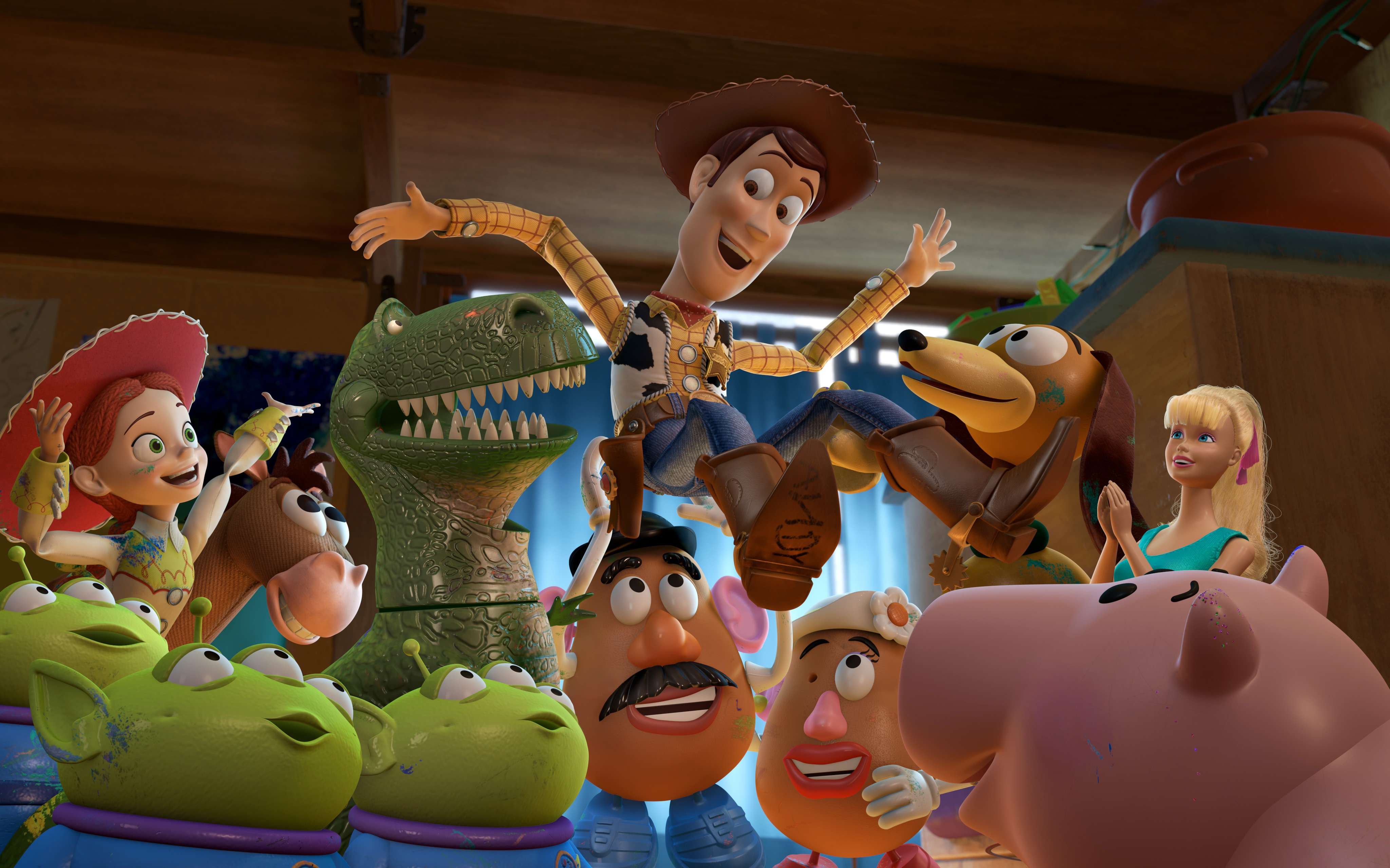 Toy Story Coming Collider
